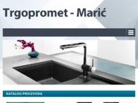 Slika naslovnice sjedišta: Trgopromet Marić (http://trgopromet-maric.hr/)