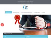 Frontpage screenshot for site: Sudski tumač za engleski i njemački jezik (http://sudski-tumac-zagreb.com/)