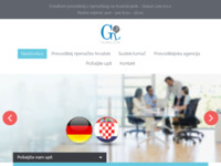 Frontpage screenshot for site: (http://prevoditelj-njemacko-hrvatski.com/)