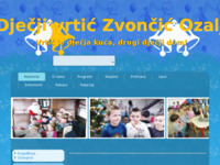 Frontpage screenshot for site: Dječji vrtić Zvončić (http://www.dv-zvoncic-ozalj.hr/)