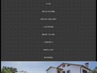Frontpage screenshot for site: Villa Gloria - Istra (http://www.villa-gloria.eu)