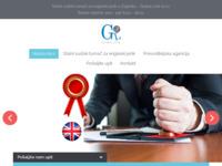 Frontpage screenshot for site: Sudski tumač za engleski jezik (http://sudski-tumac-engleski-jezik.com/)