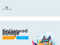 Slika naslovnice sjedišta: Knjigovodstvene usluge Аina (http://www.djinaknjigovodstvo.eu)