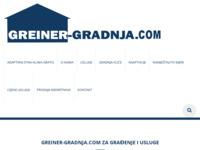 Slika naslovnice sjedišta: Greiner gradnja d.o.o. (http://www.greiner-gradnja.hr)