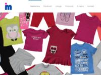 Slika naslovnice sjedišta: Ivanka moda - Proizvodnja i veleprodaja odjeće za bebe, djecu i odrasle (http://ivankamoda.hr)