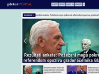Slika naslovnice sjedišta: Pleter Portal - Nezavisni informativni portal (http://pleter-portal.hr)