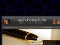 Frontpage screenshot for site: Ante Gune Čulina - Osobne stranice (http://www.agc-poesie.de)