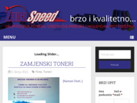 Frontpage screenshot for site: Žuna-speed – Brzo i kvalitetno (http://zuna-speed.hr/)