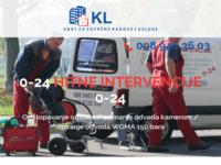 Slika naslovnice sjedišta: KL usluge - Hitne intervencije 0-24 (http://kl-usluge.hr)