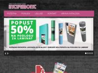 Slika naslovnice sjedišta: Intermont Varaždin - Trgovina građevinskog materijala (http://intermont-intl.hr)