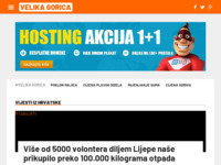 Slika naslovnice sjedišta: Internet portal grad Velika Gorica (http://velika-gorica.org/)