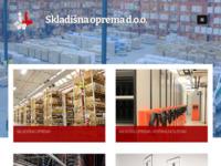 Frontpage screenshot for site: Skladišna oprema d.o.o (http://skladisna-oprema.hr/)