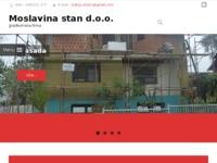 Slika naslovnice sjedišta: Moslavina stan d.o.o. (http://moslavinastan.hr/)