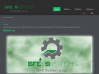 Slika naslovnice sjedišta: SFE Sustavi (http://www.sfe-sustavi.hr)