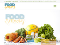 Slika naslovnice sjedišta: Food Harmony (http://food.harmony.hr)