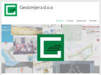 Slika naslovnice sjedišta: Geoizmjera d.o.o. (http://geoizmjera.hr/)