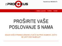 Slika naslovnice sjedišta: Profokus j.d.o.o (http://profokus.net)