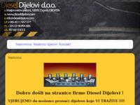 Slika naslovnice sjedišta: DieselDijelovi.com (http://www.dieseldijelovi.com)
