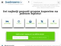 Frontpage screenshot for site: TopPopusti - agregator svih akcija, popusta i super cijena (http://www.toppopusti.hr/)