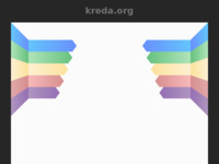 Frontpage screenshot for site: Udruga kreditnih dužnika Kreda (http://kreda.org/)