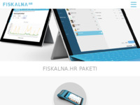Slika naslovnice sjedišta: Fiskalna blagajna (http://fiskalna.hr/)
