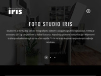 Frontpage screenshot for site: (http://www.studioiris.hr/)
