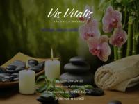 Slika naslovnice sjedišta: Medicinska masaža Zagreb - Vis vitalis (http://www.visvitalis-salon.hr/)