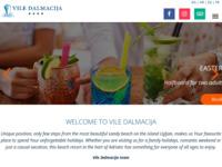 Frontpage screenshot for site: Luksuzni smještaj Preko, Ugljan, Zadar (http://www.vile-dalmacija.com/)