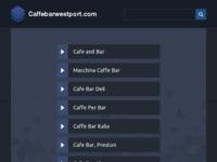 Frontpage screenshot for site: Caffe Bar Westport (http://www.caffebarwestport.com)