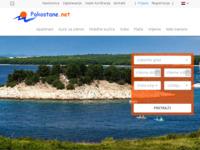 Frontpage screenshot for site: Apartmani Pakoštane Drage Vrgada Vrana (http://www.pakostane.net)