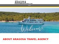 Frontpage screenshot for site: Aragosa d.o.o. (http://aragosa.hr)