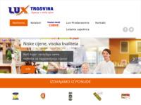 Slika naslovnice sjedišta: Lux Trgovina - Tajna je u niskim cijenama (http://lux-trgovina.hr)