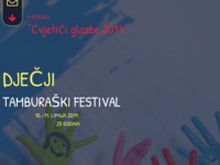 Frontpage screenshot for site: (http://cvjetici-glazbe.hr/)
