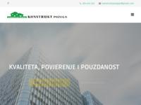 Frontpage screenshot for site: Konstrukt Požega (http://konstruktpozega.hr/)