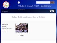 Slika naslovnice sjedišta: Kulturno umjetničko društvo Orljava (http://kud-orljava.hr/)