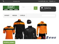 Frontpage screenshot for site: SMC - sport, moda, cipele (http://sport-moda-cipele.hr/)