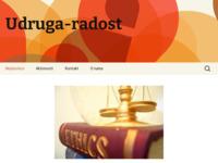 Slika naslovnice sjedišta: Udruga Radost - Udruga za potrebite (http://udruga-radost.hr/)