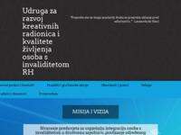 Slika naslovnice sjedišta: Udruga za razvoj i unapređenje pomagala i kvalitete življenja osoba s invaliditetom RH (http://uzrup.hr/)