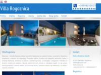 Frontpage screenshot for site: Villa Rogoznica (http://www.villa-rogoznica.com)