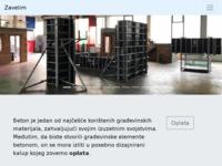 Slika naslovnice sjedišta: Zavelim - skele i oplate (http://www.skela-oplate.eu/)