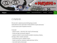 Slika naslovnice sjedišta: Majami - Osiguravajući, spojni i podložni strojni elementi (http://www.majami.hr)