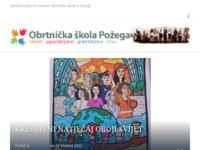 Slika naslovnice sjedišta: Obrtnička škola Požega (http://www.obrtnicka-skola-pozega.hr)