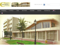 Frontpage screenshot for site: Hotel Central Bjelovar (http://hotel-central-bjelovar.com.hr/)