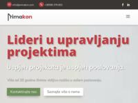 Slika naslovnice sjedišta: Primakon - project management i konzalting (http://www.primakon.hr)