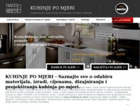 Slika naslovnice sjedišta: Kuhinje po mjeri - Povoljna cijena izrade kuhinje po mjeri (http://kuhinjepomjeri.eu)