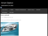 Slika naslovnice sjedišta: Smart Dijelovi - najam vozila i prodaja dijelova (http://smart-dijelovi.hr)