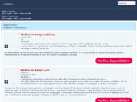 Frontpage screenshot for site: MEDITERAN KAMP - Najam mobilne kućice u Hrvatskoj (http://www.mediteran-kamp.hr/mobilne-kucice-hrvatska.html)