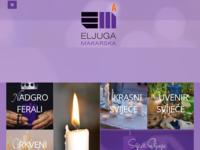 Slika naslovnice sjedišta: Tvornica svijeća Eljuga (http://eljuga.com)