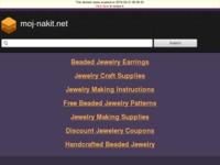 Frontpage screenshot for site: Moj nakit (http://www.moj-nakit.net)