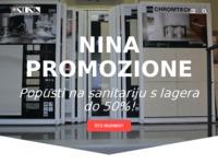 Slika naslovnice sjedišta: Nina Promozione (http://nina-promozione.hr)